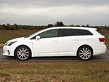 Photos of Toyota Avensis Wagon UK-spec 2012