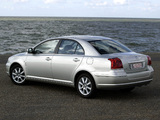 Pictures of Toyota Avensis Sedan 2003–06