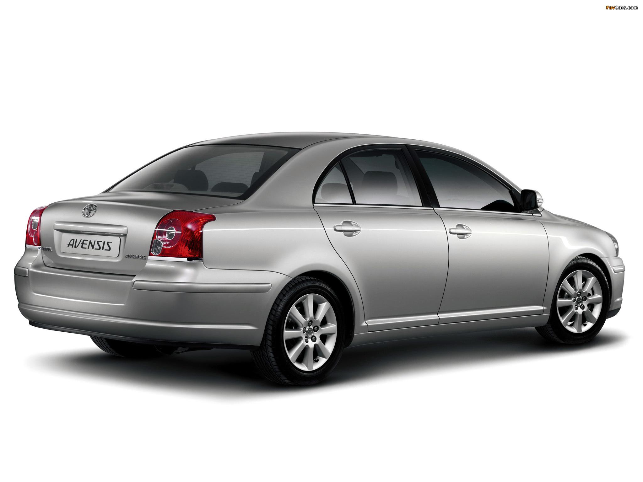Toyota Авенсис описание #11