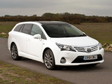 Toyota Avensis Wagon UK-spec 2012 images