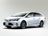 Toyota Avensis JP-spec 2012 wallpapers