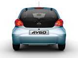 Images of Toyota Aygo 5-door 2005–08