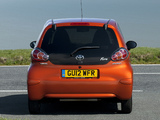 Images of Toyota Aygo 5-door UK-spec 2012