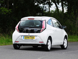 Photos of Toyota Aygo 3-door UK-spec 2014