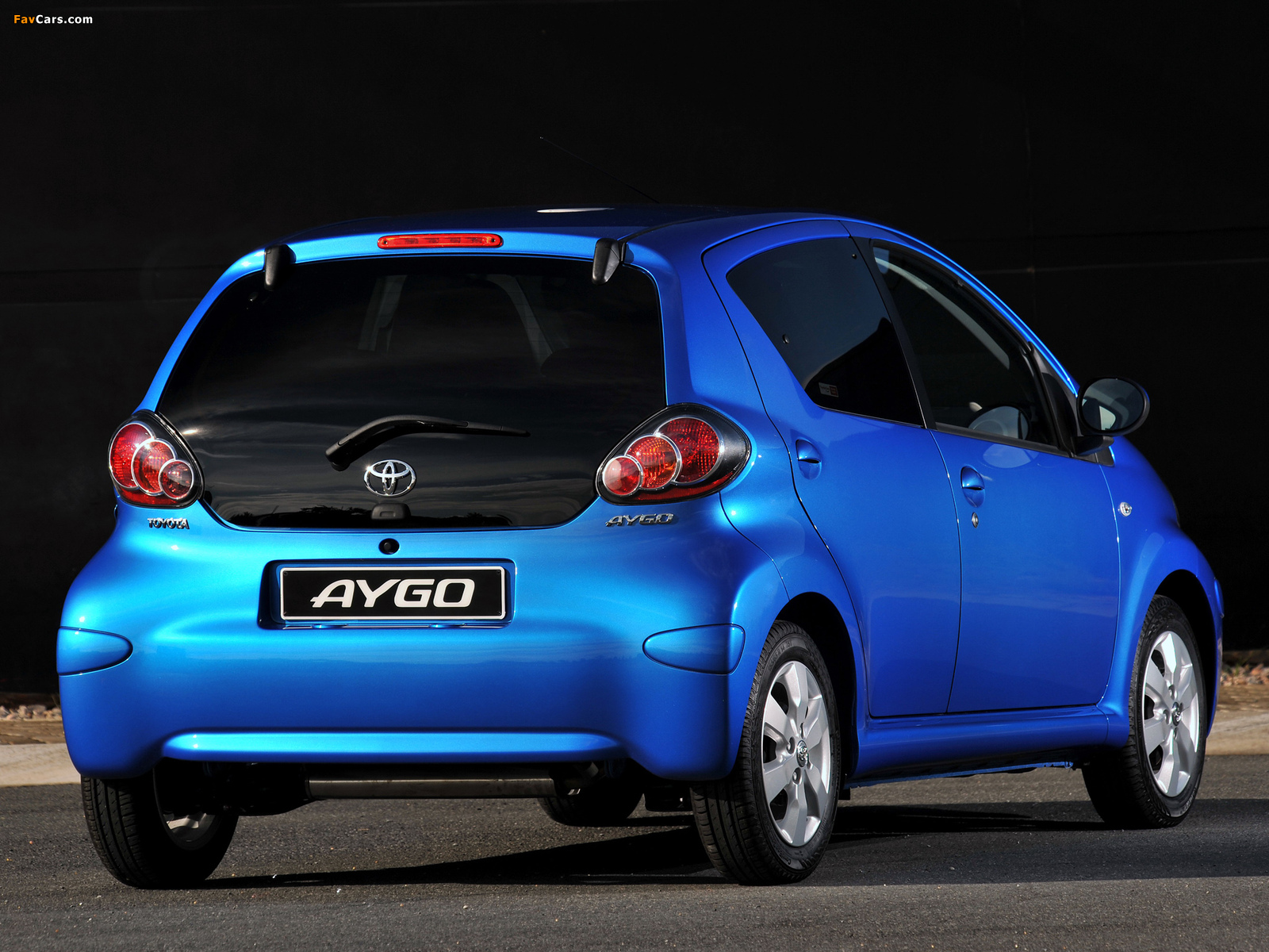 toyota aygo 5 door za spec 2008 images 1600x1200. Black Bedroom Furniture Sets. Home Design Ideas