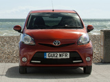 Toyota Aygo 5-door UK-spec 2012 images