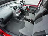 Toyota Aygo 5-door UK-spec 2012–14 pictures