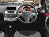 Toyota Aygo 5-door UK-spec 2012 wallpapers