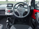 Toyota Aygo 5-door UK-spec 2012–14 wallpapers