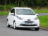 Toyota Aygo 3-door UK-spec 2014 images