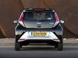 Toyota Aygo 5-door UK-spec 2014 photos