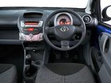 Toyota Aygo 5-door ZA-spec 2008 wallpapers
