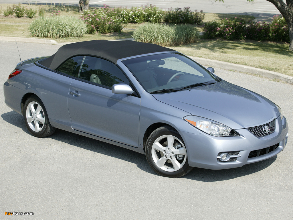images of toyota camry solara convertible 2006 09 1024x768. Black Bedroom Furniture Sets. Home Design Ideas