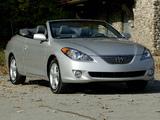 Photos of Toyota Camry Solara Convertible 2004–06