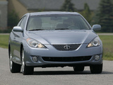 Photos of Toyota Camry Solara Coupe 2004–06
