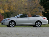 Pictures of Toyota Camry Solara Convertible 2004–06