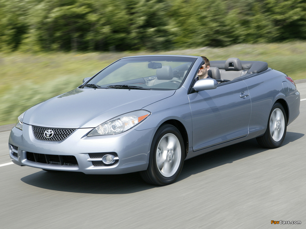 Toyota Camry Solara Convertible 2006 09 Images 1024x768