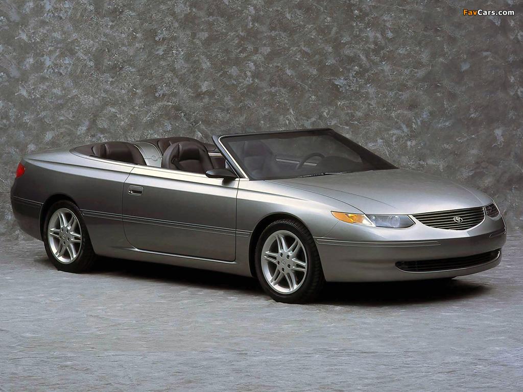 Toyota Camry Solara Concept 1998 images (1024 x 768)