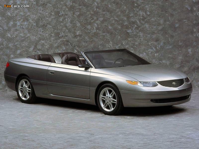 Toyota Camry Solara Concept 1998 images (800 x 600)