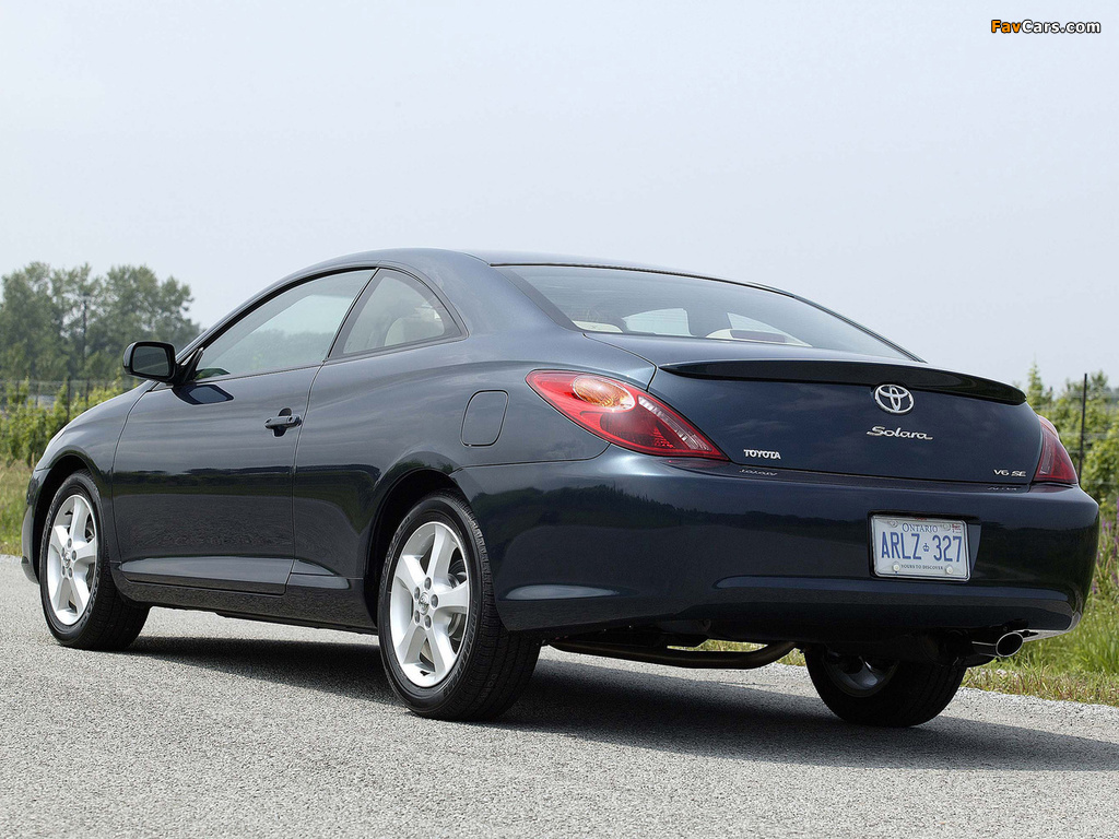 Toyota Camry Solara Coupe 2004 06 Pictures 1024x768