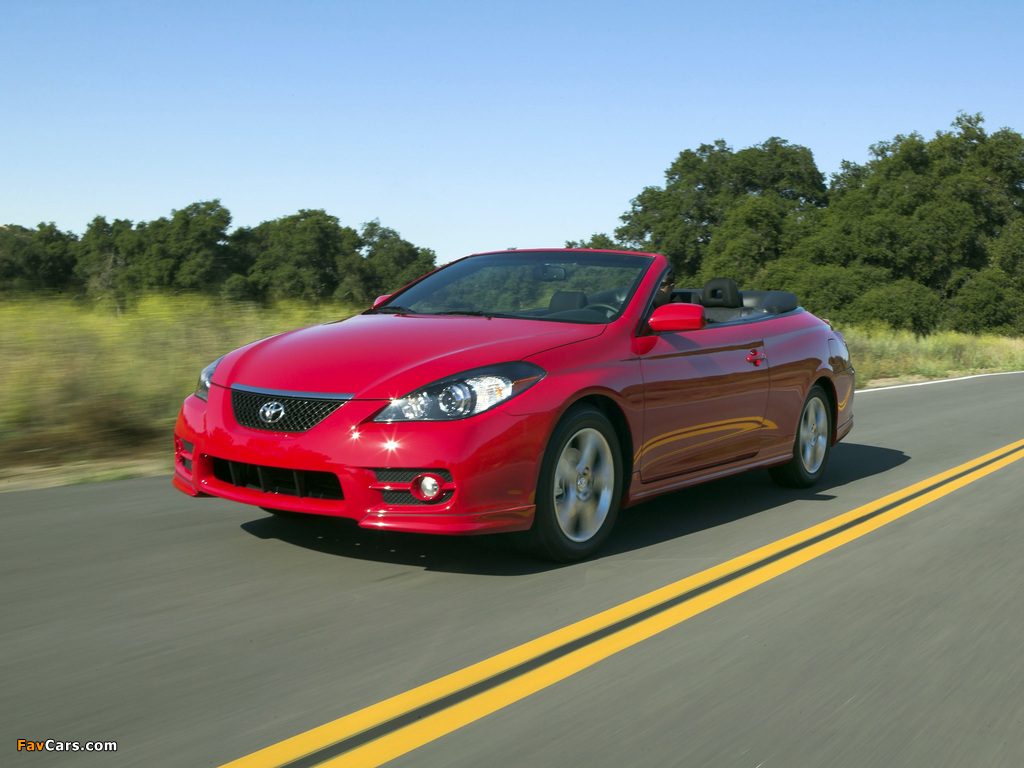 Toyota Camry Solara Sport Convertible 2006 09 Wallpapers
