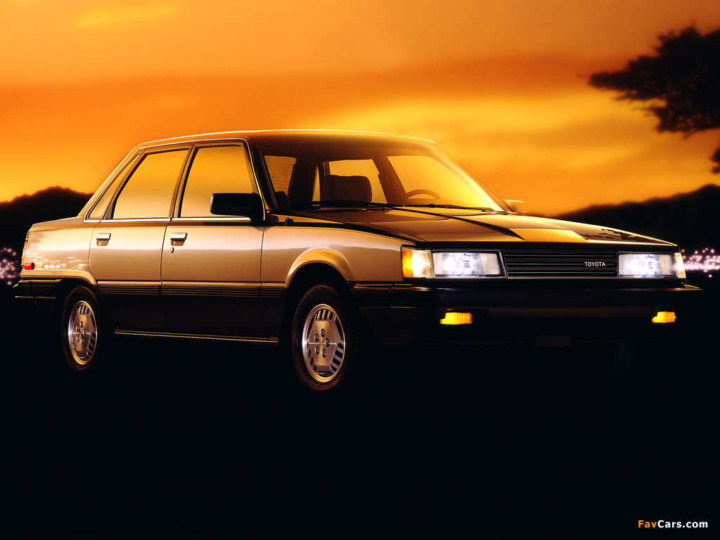 Images of Toyota Camry LE US-spec (V10) 1984–86 (1024 x 768)
