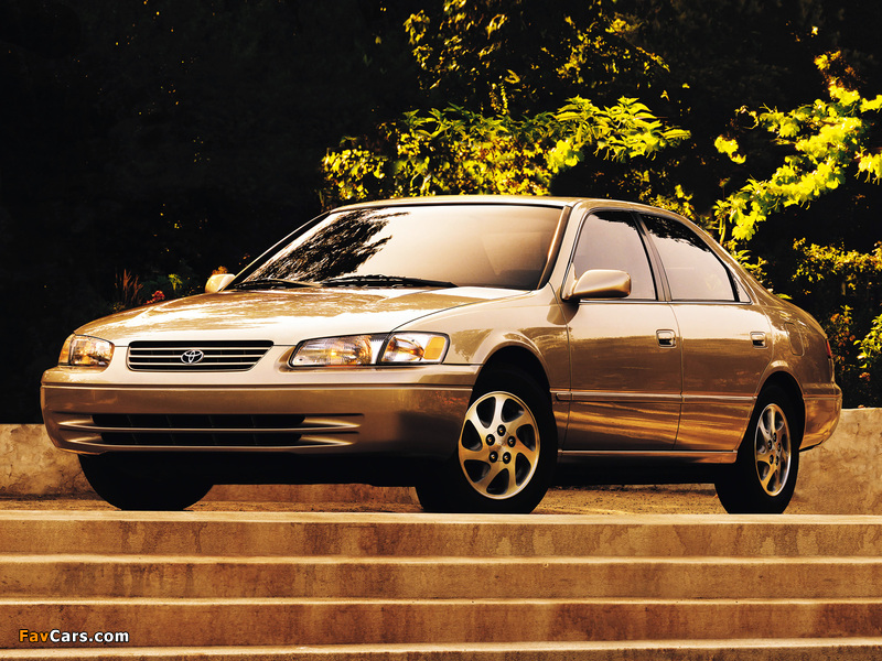 Images of Toyota Camry US-spec (MCV21) 1997–99 (800 x 600)