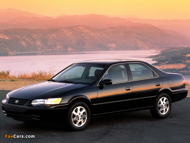 Images of Toyota Camry US-spec (MCV21) 1997–99 (640 x 480)