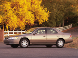 Images of Toyota Camry US-spec (SXV20) 1999–2001