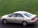 Images of Toyota Camry US-spec (ACV30) 2001–04
