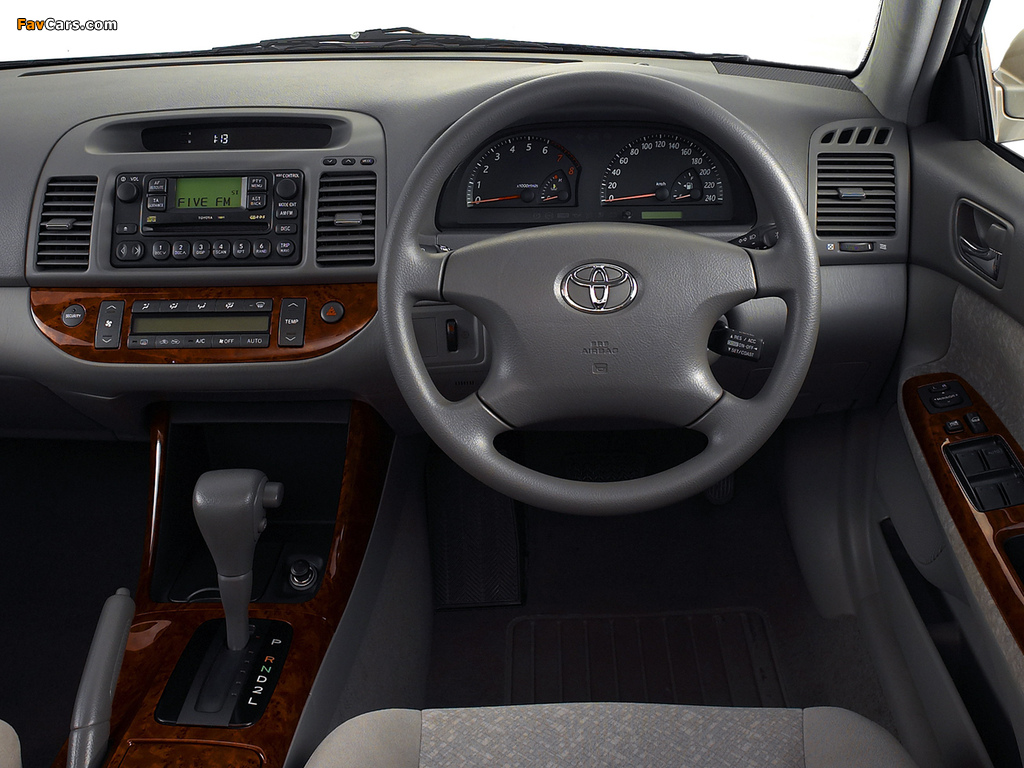 Images of Toyota Camry ZA-spec (ACV30) 2001–04 (1024 x 768)