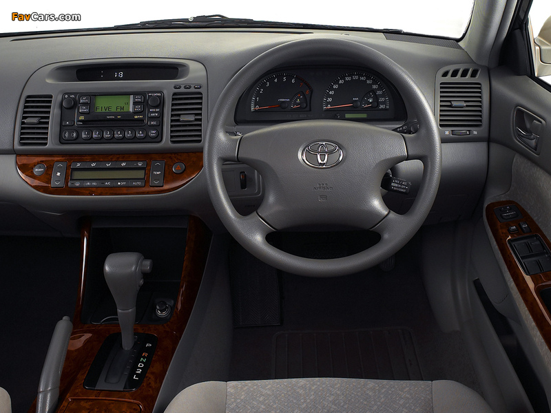 Images of Toyota Camry ZA-spec (ACV30) 2001–04 (800 x 600)
