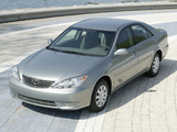 Images of Toyota Camry LE US-spec (ACV30) 2004–06