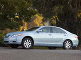 Images of Toyota Camry XLE 2006–09