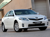 Images of Toyota Camry Hybrid AU-spec 2009–11
