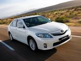 Images of Toyota Camry Hybrid AU-spec 2009–11