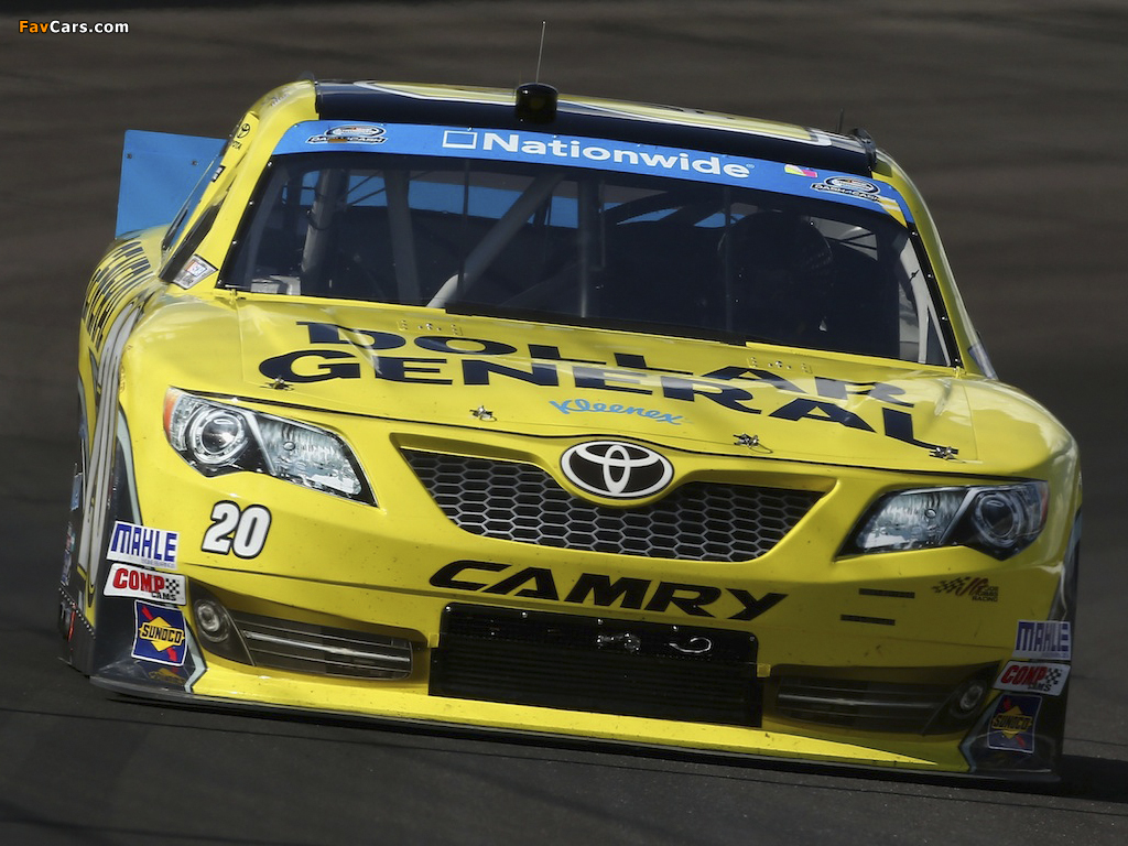 images of toyota camry nascar nationwide series race car 2011 1024x768. Black Bedroom Furniture Sets. Home Design Ideas