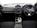 Images of Toyota Camry Atara S 2011