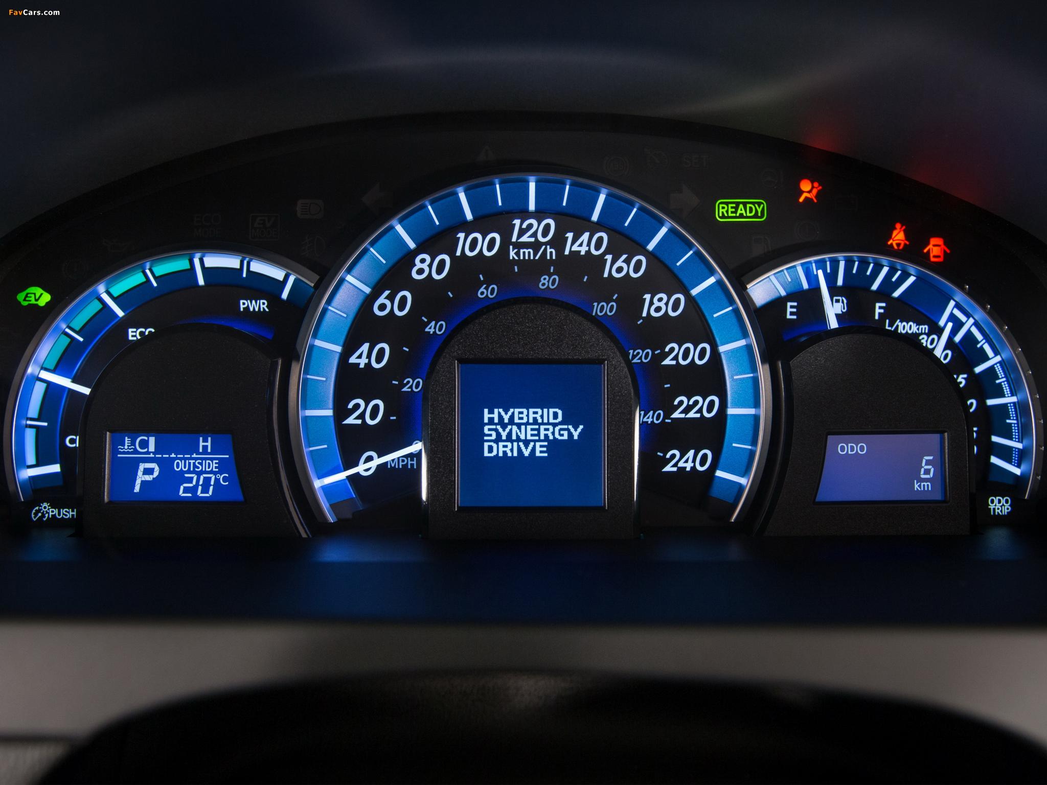 Images of Toyota Camry Hybrid SE 2014 (2048 x 1536)
