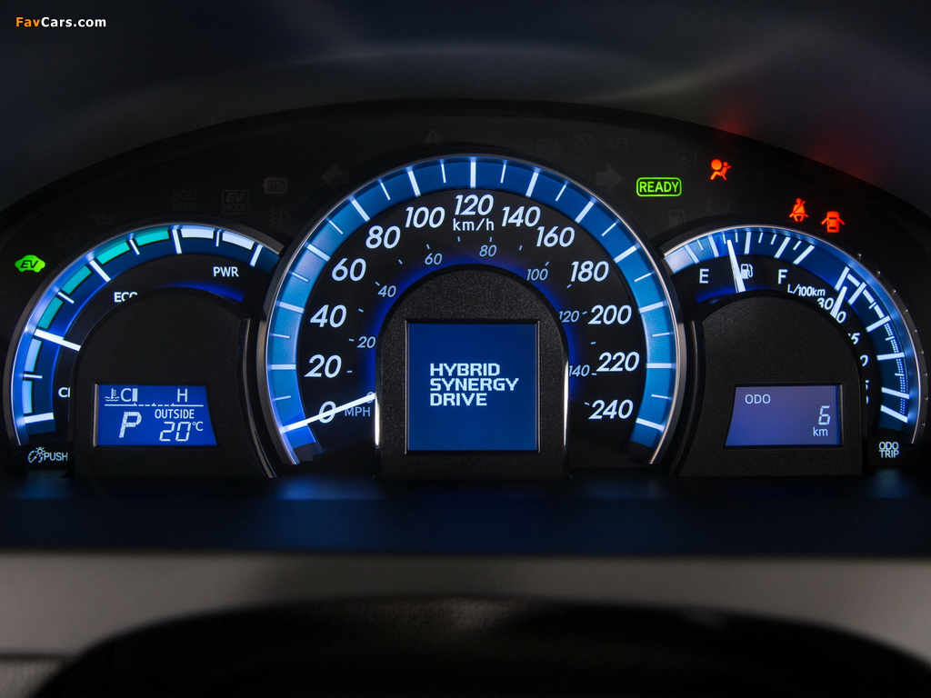 Images of Toyota Camry Hybrid SE 2014 (1024 x 768)