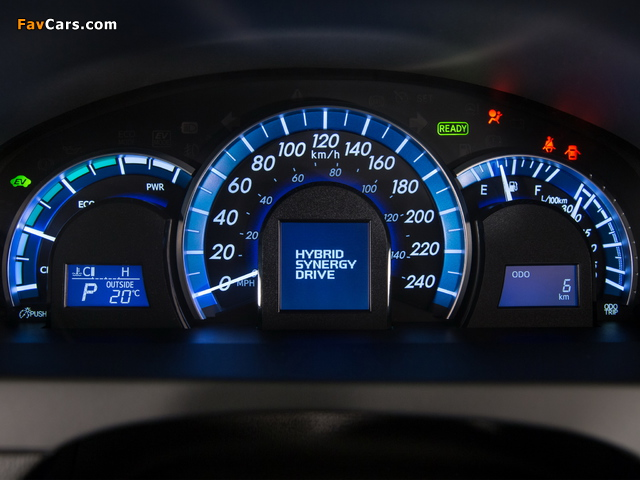 Images of Toyota Camry Hybrid SE 2014 (640 x 480)