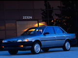 Photos of Toyota Camry Sedan LE US-spec 1986–90