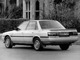 Photos of Toyota Camry Sedan UK-spec 1986–91