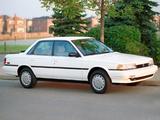 Photos of Toyota Camry Sedan LE US-spec 1990–91