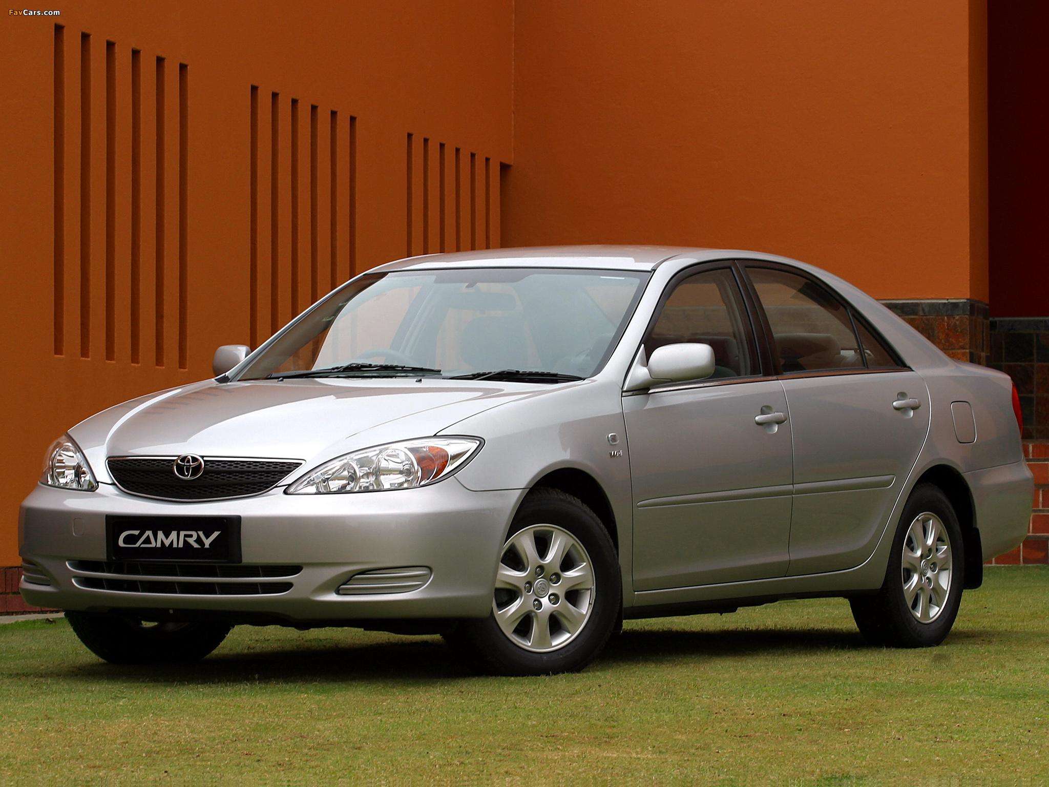 Photos of Toyota Camry ZA-spec (ACV30) 2001–04 (2048 x 1536)