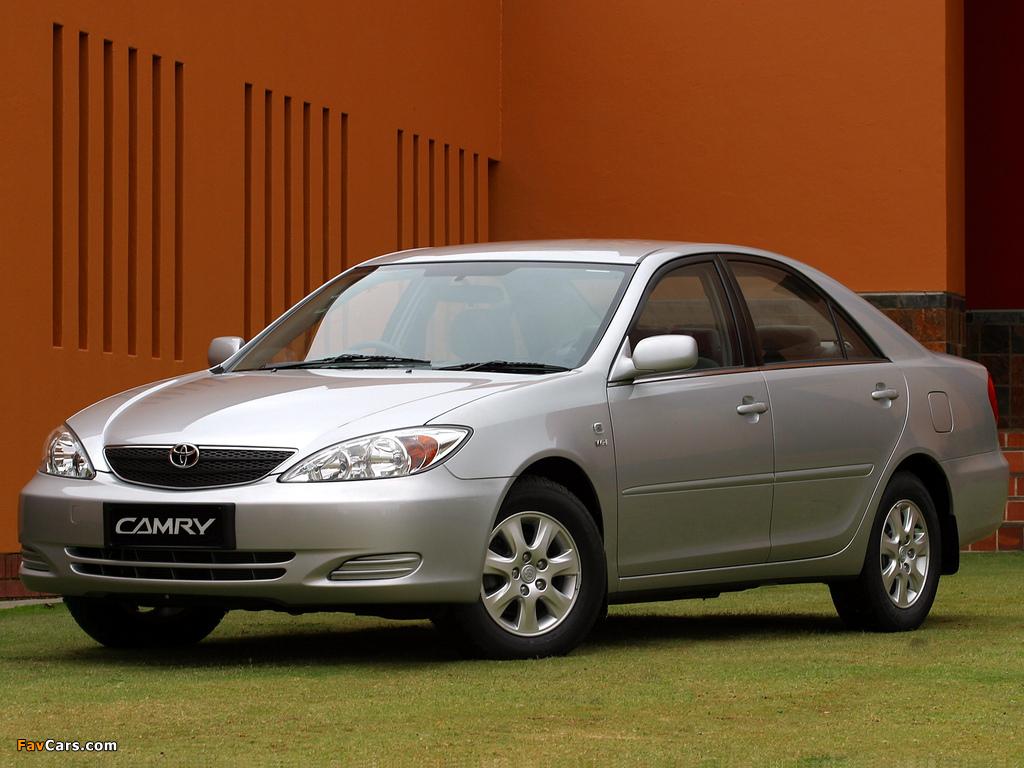 Photos of Toyota Camry ZA-spec (ACV30) 2001–04 (1024 x 768)