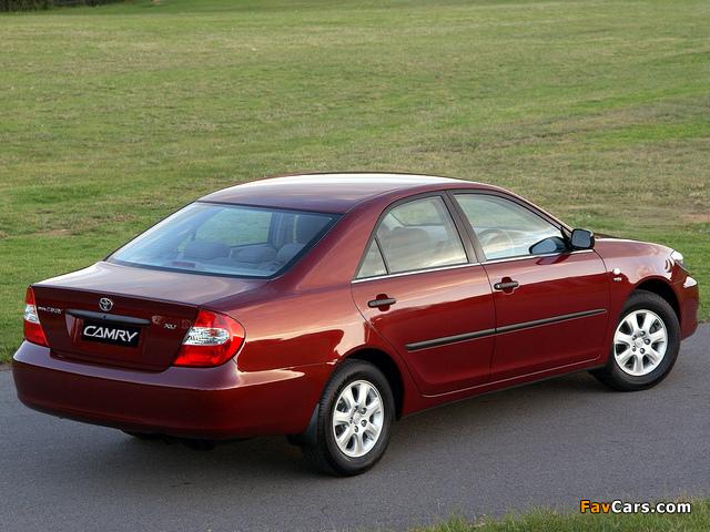 Photos of Toyota Camry ZA-spec (ACV30) 2001–04 (640 x 480)