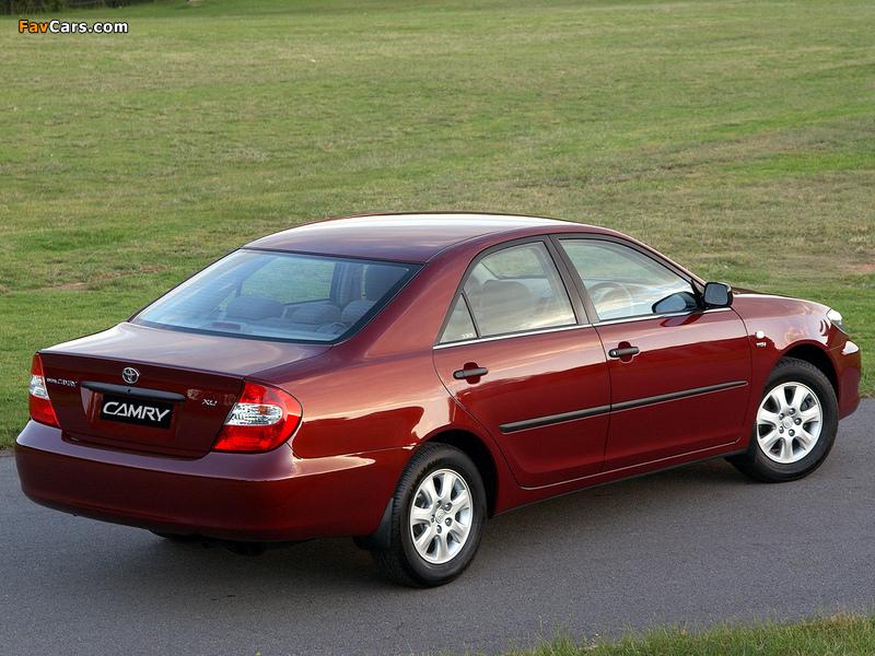 Photos of Toyota Camry ZA-spec (ACV30) 2001–04 (800 x 600)