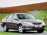 Photos of Toyota Camry UK-spec (ACV30) 2002–06