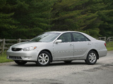 Photos of Toyota Camry XLE US-spec (ACV30) 2004–06